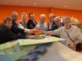 18 dec. 2015 Stichting Weidevenne bij start Wereldbol