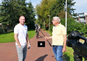 Video met miniview Piet Jonker en Michael Lanting