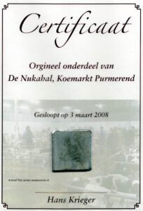 certificaat sloop Nukahal